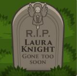 Lauraknightgravestone2