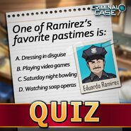 Ramirez quiz