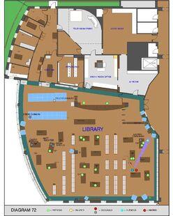 Columbine library map