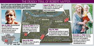 Napper Crime Map