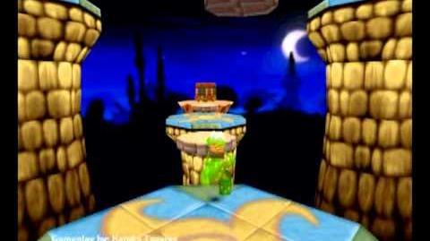 Croc Legend of the Gobbos (PC) - Island 3 Secret 2 (Defeato Burrito)