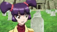 Cross Ange ep 11 Mei in the Cemetery