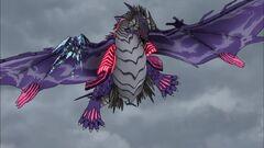 Cross Ange ep 03 Galleon-class DRAGON fighting