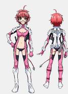 Vivian Uniform Front Back