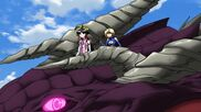 Cross Ange ep 15 Salamandinay and Ange Riding