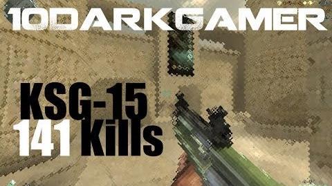 CrossFire KSG-15 Shotgun 141 Kills HD ll 10DarkGamer