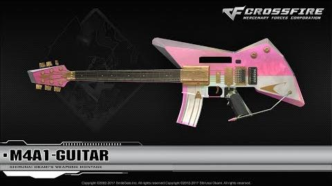 CrossFire China 2.0 M4A1-Guitar ☆