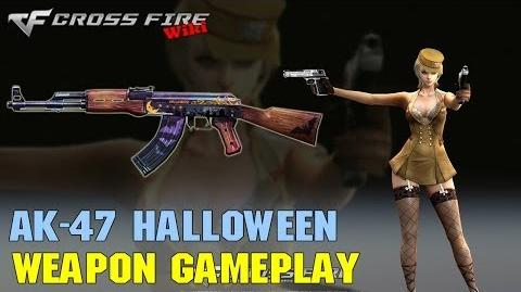CrossFire - AK-47 Halloween (2013) - Weapon Gameplay