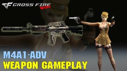 CrossFire - M4A1-Adv - Weapon Gameplay