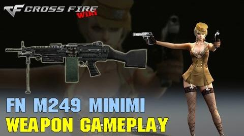 CrossFire - M249 Minimi - Weapon Gameplay