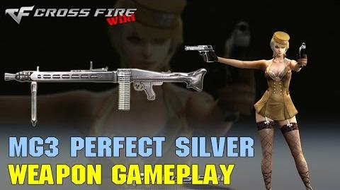 CrossFire - MG3 Perfect Silver - Weapon Gameplay