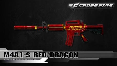 CrossFire Vietnam M4A1-S Red Dragon ☆