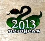 Snake Year Spray ingame