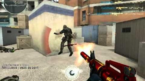 Crossfire M4A1 Red Dragon Gameplay