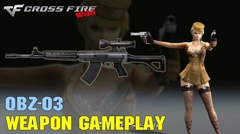 CrossFire - QBZ-03 - Weapon Gameplay