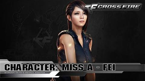 CrossFire Character FEI - Miss A ☆