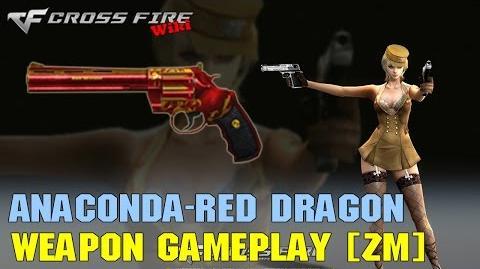 CrossFire - Anaconda Red Dragon - Weapon Gameplay