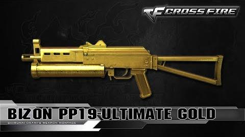 CrossFire Vietnam BIZON PP19-Ultimate Gold ☆