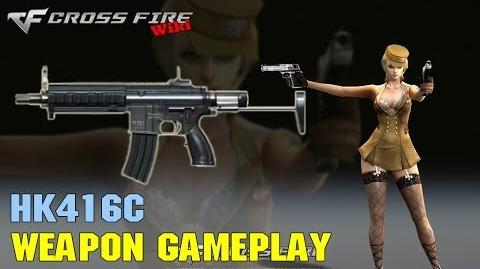 CrossFire - HK416C - Weapon Gameplay
