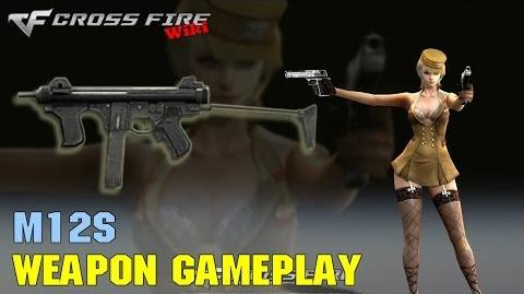 CrossFire - M12s - Weapon Gameplay