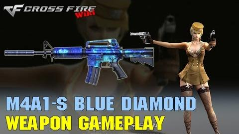 CrossFire - M4A1-S Blue Diamond - Weapon Gameplay
