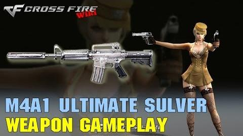 CrossFire - M4A1 Ultimate Silver - Weapon Gameplay