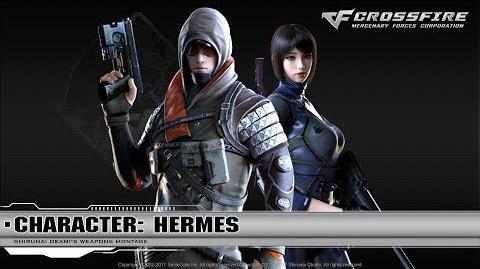 CrossFire Character Hermes Djehuti (Special) ☆-0