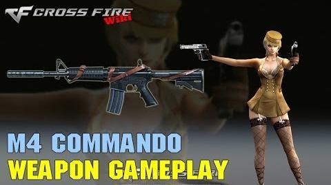 CrossFire - M4 Commando - Weapon Gameplay