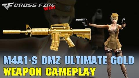 CrossFire - M4A1-S DMZ Ultimate Gold - Weapon Gameplay