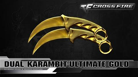 CrossFire Vietnam 2.0 - Dual Karambit-Ultimate Gold ☆