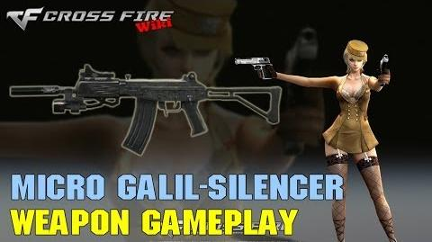 CrossFire - Micro Galil SIlencer - Weapon Gameplay