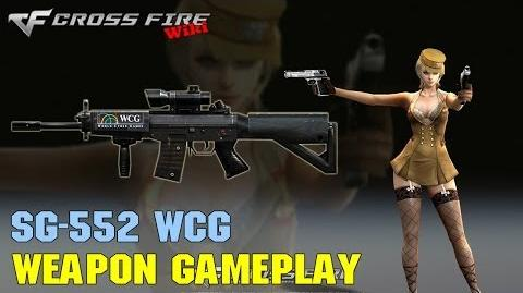 CrossFire - SG552 WCG - Weapon Gameplay