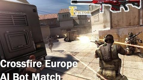Crossfire Europe - BOT SD Gameplay - difficulty Easy