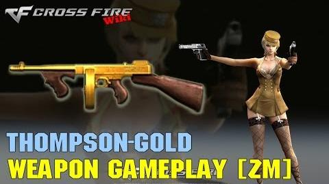 CrossFire - Thompson Gold - Weapon Gameplay