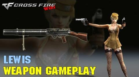 CrossFire - Lewis - Weapon Gameplay