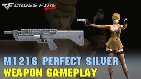 CrossFire - M1216 Perfect Silver - Weapon Gameplay