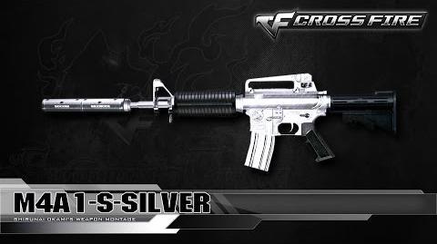CrossFire North America M4A1-S Silver ☆