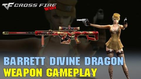 CrossFire - Barrett M82A1 Divine Dragon - Weapon Gameplay