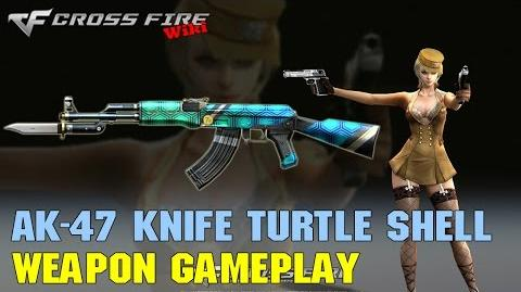 CrossFire - AK-47 Knife Turtle Shell - Weapon Gameplay