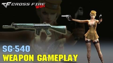 CrossFire - SG540 - Weapon Gameplay