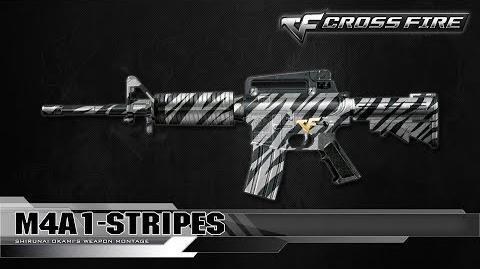 CrossFire Vietnam M4A1-Stripes ☆