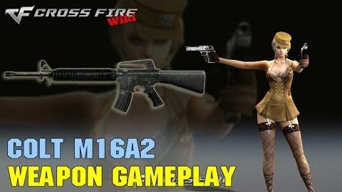 CrossFire - Colt M16A2 - Weapon Gameplay