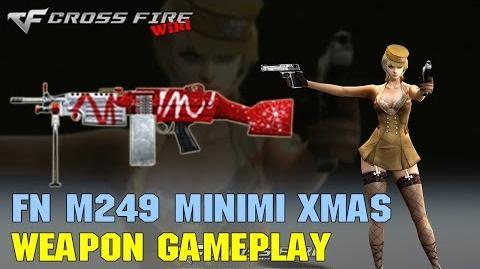 CrossFire - M249 Minimi Xmas - Weapon Gameplay