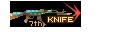 SHOT WEAPON AK47 Knife TurtleShell KNIFE 7th