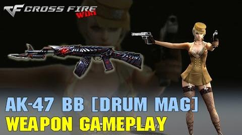 CrossFire - AK-47 Knife Born Beast (Drum Mag) - Weapon Gameplay