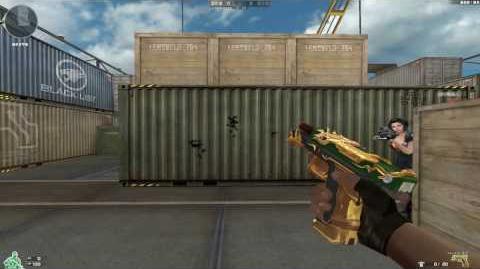 Cross Fire China Glock-18C Guan Yu Spirit (VVIP)!