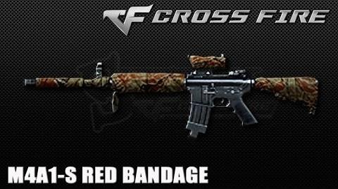 CrossFire Vietnam M4A1-S Red Bandage ☆-0