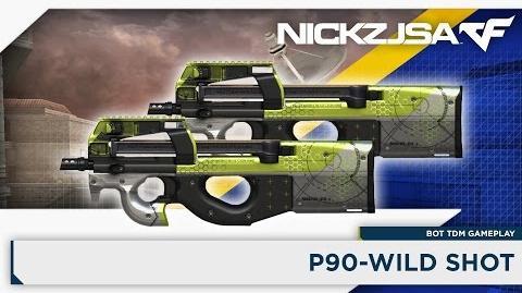 P90-Wild Shot - CROSSFIRE China 2