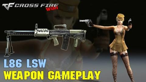 CrossFire - L86 LSW - Weapon Gameplay