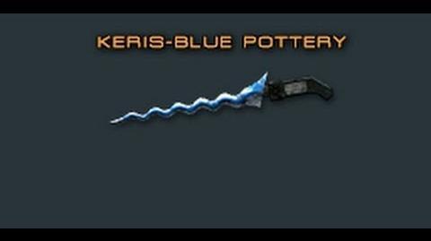 Cross Fire China Keris-Blue Pottery Review!